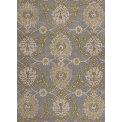 Grabill Hand-Tufted Lilac Area Rug Rug Size: 33 x 53