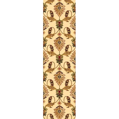 Greenfield Ivory Area Rug Rug Size: Runner 22 x 711