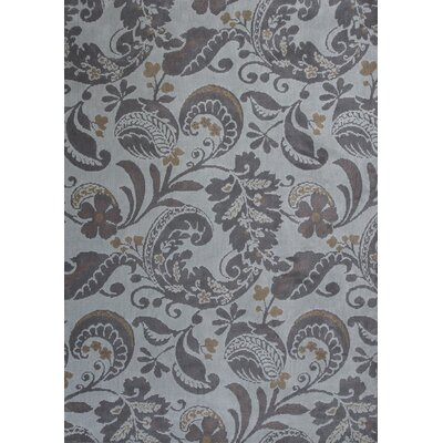 Linden Hand-Tufted Gray Area Rug Rug Size: 5 x 7