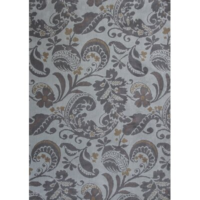 Linden Hand-Tufted Gray Area Rug Rug Size: 67 x 96