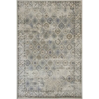 Griffith Ivory Area Rug Rug Size: Rectangle 53 x 78