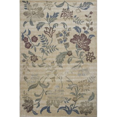 Griffith Sand Area Rug Rug Size: Rectangle 53 x 78