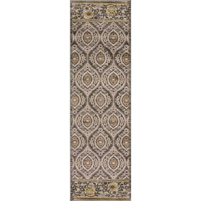 Morgantown Slate Gray Area Rug Rug Size: Runner 22 x 611