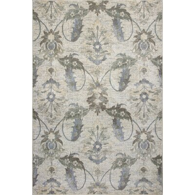 Griffith Ivory Area Rug Rug Size: 22 x 33