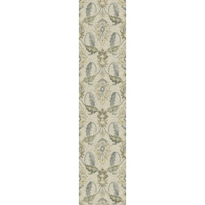 Griffith Ivory Area Rug Rug Size: Runner 22 x 711