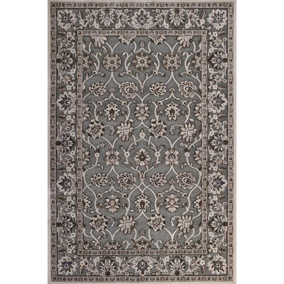 Morgantown Slate Gray Area Rug Rug Size: 53 x 77