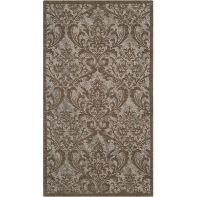 Portleven Gray Area Rug Rug Size: 8 x 10