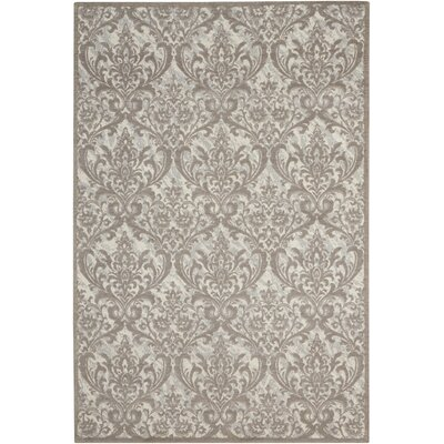 Portleven Gray Area Rug Rug Size: 5 x 7