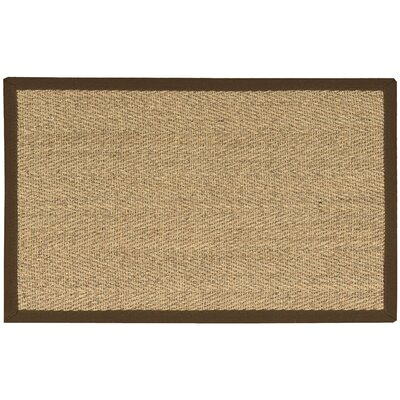 Remington Brown/Beige Area Rug Rug Size: 26 x 4