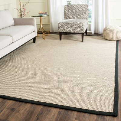 Monadnock Marble / Black Area Rug Rug Size: Rectangle 6 x 9