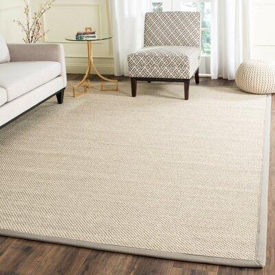 Columbus Marble/Khaki Area Rug Rug Size: 8 x 10