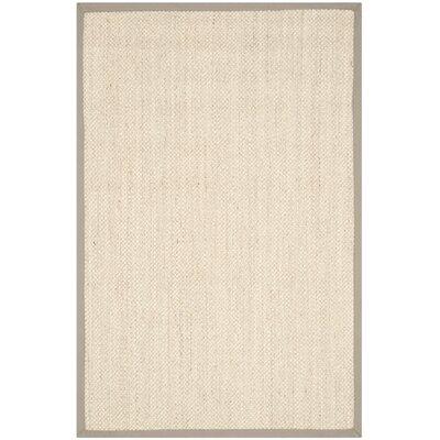 Columbus Marble/Khaki Area Rug Rug Size: 4 x 6