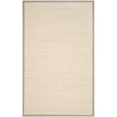 Monadnock Marble/Khaki Area Rug Rug Size: 5 x 8