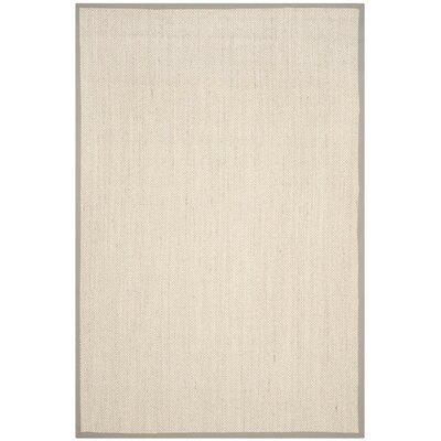 Monadnock Marble/Khaki Area Rug Rug Size: 6 x 9