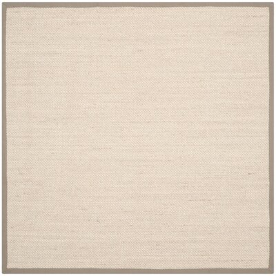 Monadnock Marble/Khaki Area Rug Rug Size: Square 6