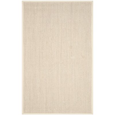 Monadnock Marble/Beige Area Rug Rug Size: Rectangle 4 x 6
