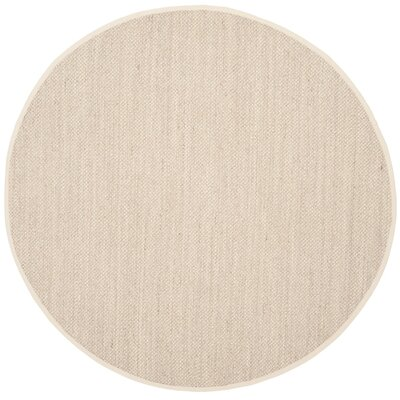 Monadnock Beige Area Rug Rug Size: Round 10