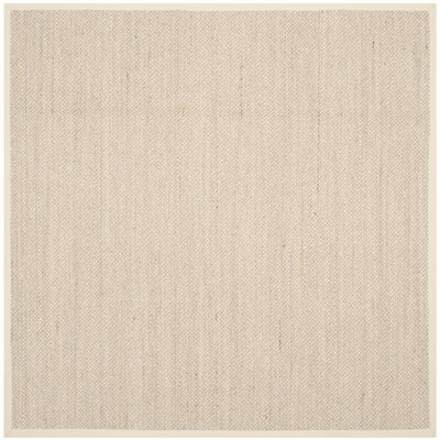 Monadnock Beige Area Rug Rug Size: Square 8