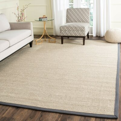 MonadnockBeige/Gray Area Rug Rug Size: Rectangle 8 x 10