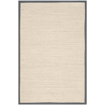 MonadnockBeige/Gray Area Rug Rug Size: Rectangle 4 x 6