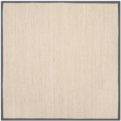 Columbus Beige/Gray Area Rug Rug Size: Square 6