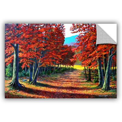 Road To the Clearing Painting Print