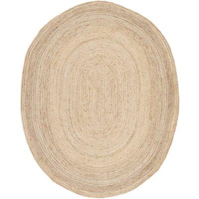 Chatham Light Tan Area Rug Rug Size: Oval 8 x 10