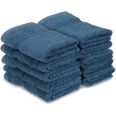 Patric Wash Cloth Color: Sapphire