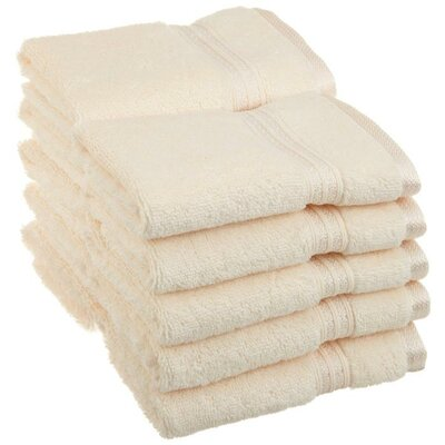 Patric 10 Piece Wash Cloth Set Color: Ivory