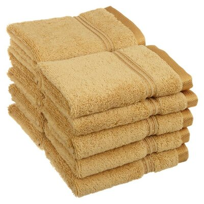 Patric Wash Cloth Color: Gold