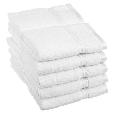 Patric 10 Piece Wash Cloth Set Color: White