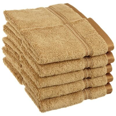 Patric 10 Piece Wash Cloth Set Color: Toast