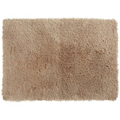 Afton Bath Rug Color: Linen, Size: 20 x 34