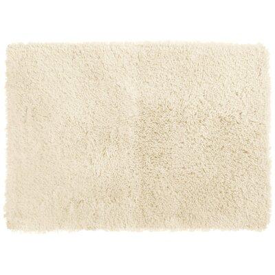 Afton Bath Rug Size: 17 x 24, Color: Ivory