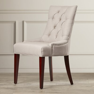 Plainville Side Chair Upholstery: Putty / Grey