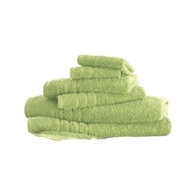 Ridgway 6 Piece Towel Set Color: Lime