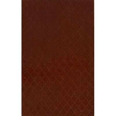 Huxley Red Indoor/Outdoor Area Rug Rug Size: 5 x 8
