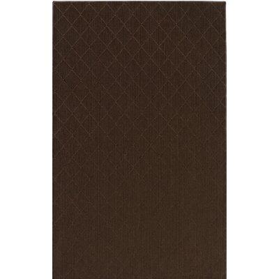 Huxley Brown Indoor/Outdoor Area Rug Rug Size: 5 x 8