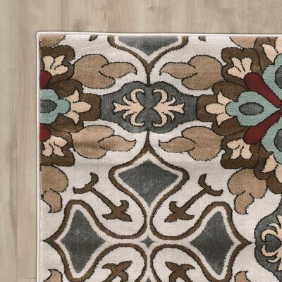 Sioux Falls Blue/Brown Area Rug Rug Size: Rectangle 8 x 10