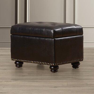 Bernadette Storage Ottoman Upholstery: Espresso