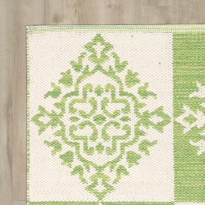 Westfield Green/Cream Area Rug