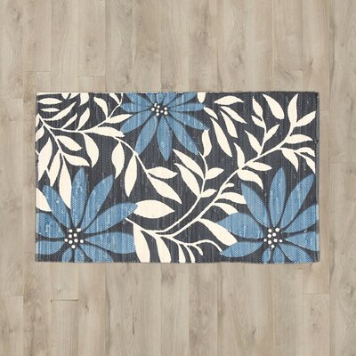 Bilmar Blue/Black Area Rug