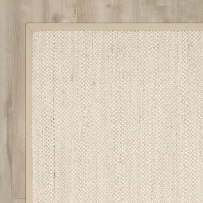 Columbus Marble / Linen Area Rug Rug Size: Square 10
