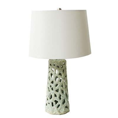 Winchester 23.25 Table Lamp Base Color: Coral