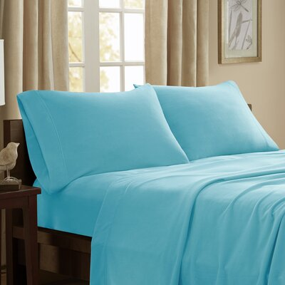 Etheridge 227 Thread Count Sheet Set Size: Queen, Color: Blue