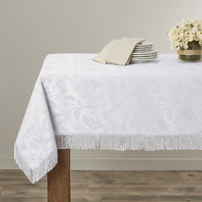 Rockport Damask Design Tablecloth