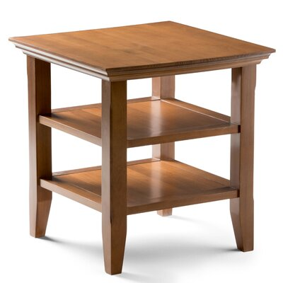 Horace End Table Color: Honey Brown