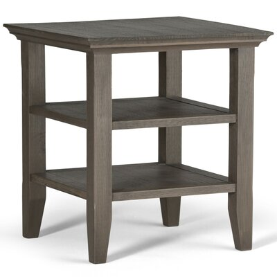 Horace End Side Table Finish: Farmhouse Gray