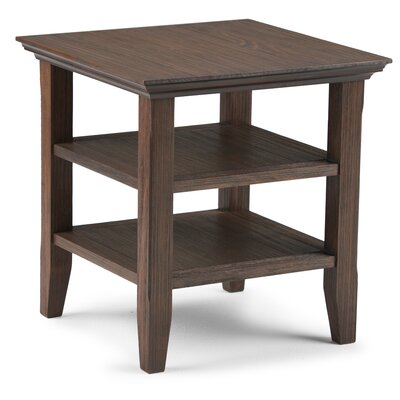 Horace End Side Table Finish: Farmhouse Brown