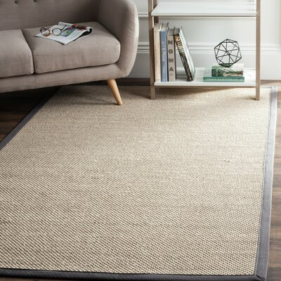 Columbus Beige/Gray Area Rug Rug Size: 3 x 5